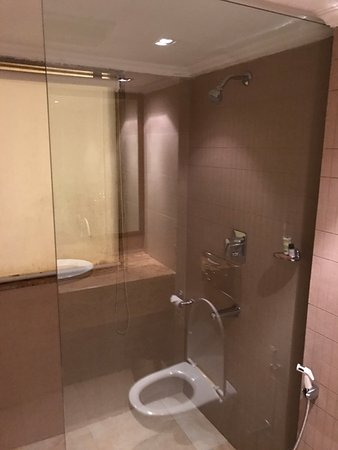 Shower cubicle - Picture of The Chariot Resort & Spa, Puri - TripAdvisor