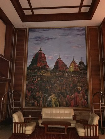 The Chariot Resort Spa M Ive Lord Jagannath Puri Painting In The Lobby