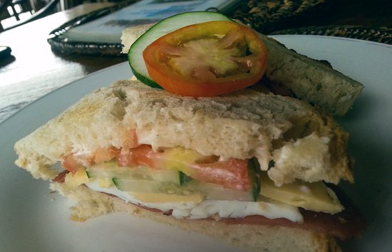 Seadive: Clubhouse sandwich