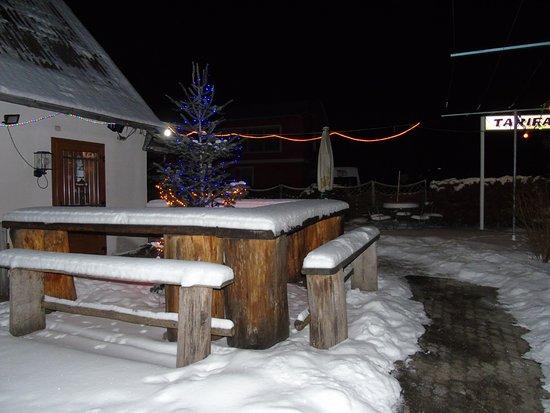 Oberhambach, Deutschland: Im Winterschlaf