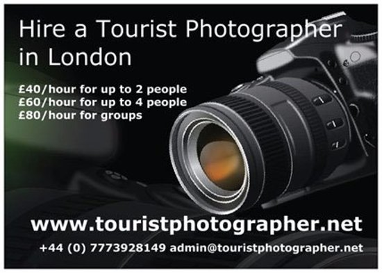 Tourist photographer in London - Picture of Tourist