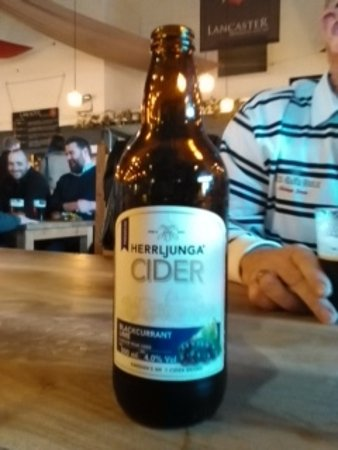 Lancaster, UK: One of the fruit ciders