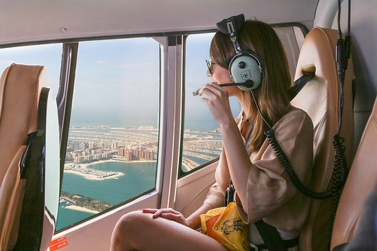 "Dubai, United Arab Emirates: Don't miss a ""Helicopter Tour"" above Atlantis The Palm"