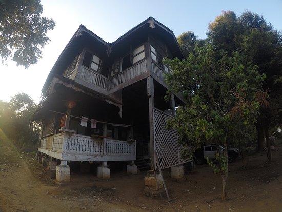 Katha, Myanmar: Owell' house