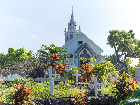 Honaunau, ฮาวาย: The Painted Church