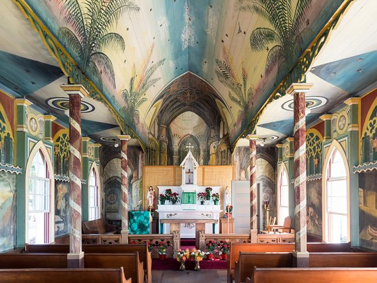 Honaunau, Havai: The Painted Church