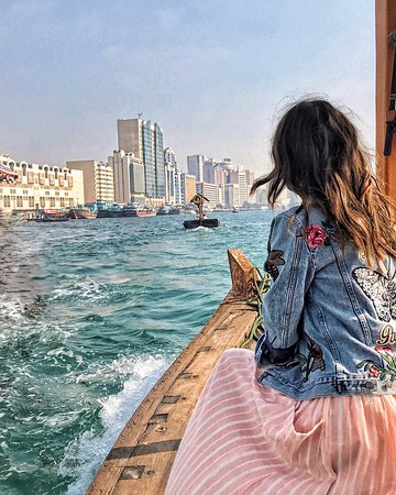 Everyone should experience crossing the Dubai Creek on an abra