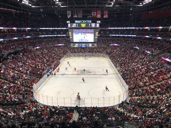 Florida Panthers - Tampa Bay Lightning - Picture of BB T Center ... b5caafae4