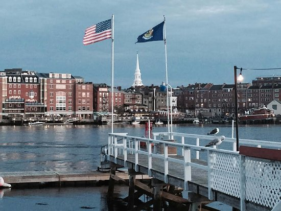 Kittery, ME: A view from The Pointe of downtown Portsmouth
