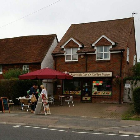 Bovingdon, UK: K's sandwich and coffee bar