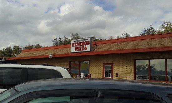 ลีส์บูร์ก, ฟลอริด้า: Stavro's Pizza outside