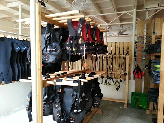 Thulusdhoo Island: Equipment room