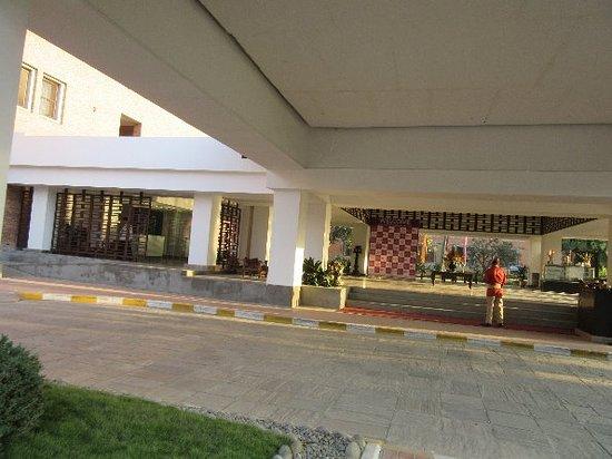 Crowne Plaza Kathmandu-Soaltee: メインロビー付近