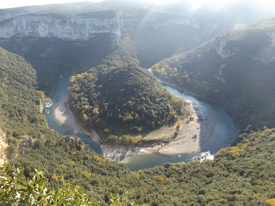 Sampzon, Frankrig: les gorges