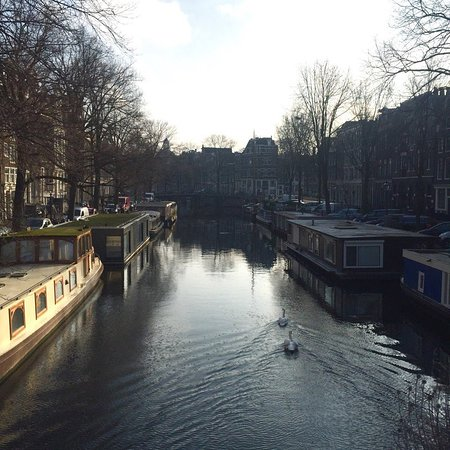 CityCenter Bed and Breakfast Amsterdam: Центр, прогулка, пейзаж.