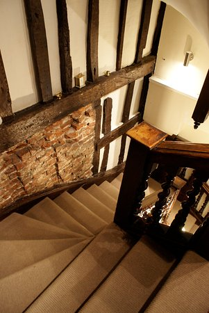 House of Agnes: 16th century staircase