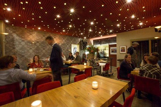 Restaurant Eetwaar: tijdens de avond