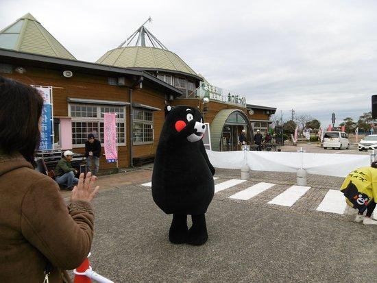 Minamata, Japan: 道の駅とくまモン