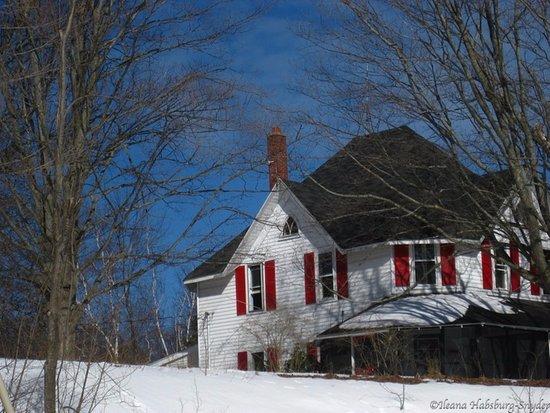Northport, Μίσιγκαν: Mill Pond Inn winter