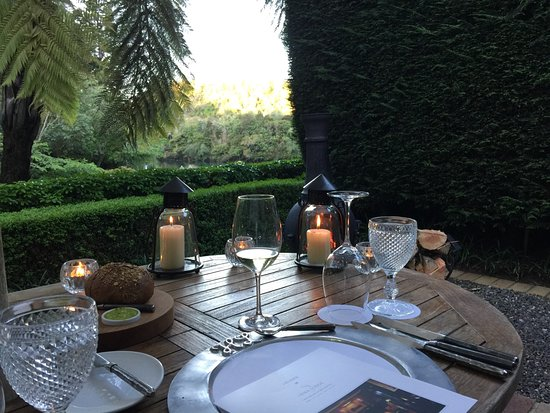 Huka Lodge: Private dining location