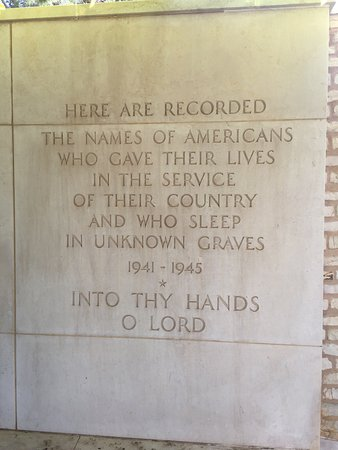 North Africa American Cemetery and Memorial : photo2.jpg