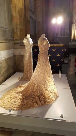 Royal Palace Temporary Exhibition Of Wedding Dresses An Evening Dress Princesses Victoria