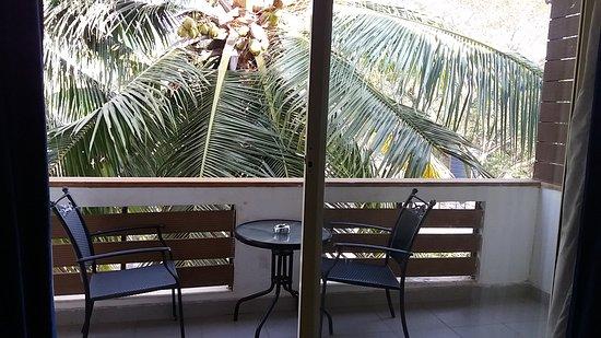 Anjuna, Índia: Balcony