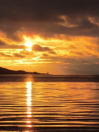 Lamlash, UK: Sunrise over the Holy Isle
