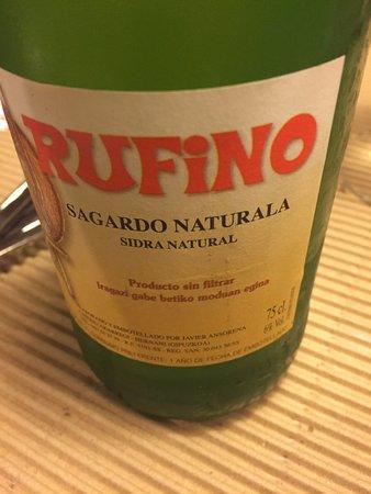 Km. 0: Sagardo - a local drink