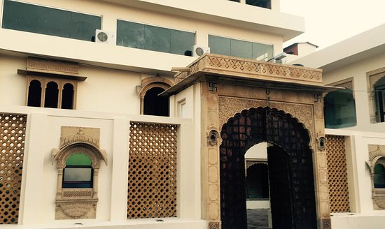 Hotel Megh Niwas : front view