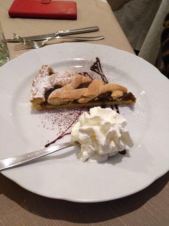 Comerio, Italy: La crostata...