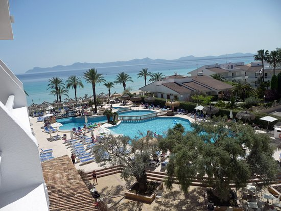 Hotel Condesa de la Bahia: View from the balcony of a Limited Sea View Room