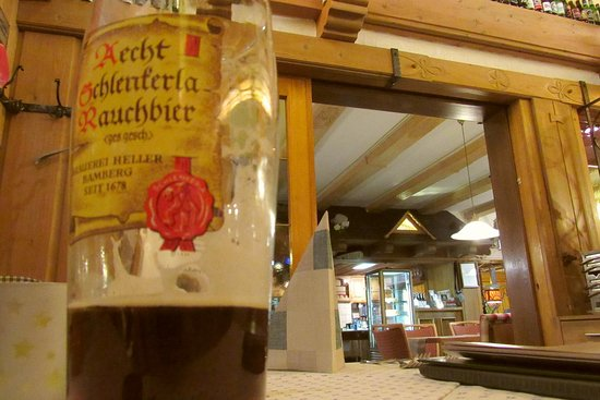 Hotel Sauerlander Hof: Bamberger Rauchbier findet man hier im Upland.
