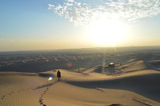 Yazd, Iran: pustynia