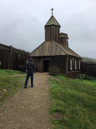 Jenner, CA: This place is a true gem of California history. The docent dressed our son as a Aleutian native
