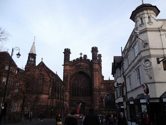 Chester Cathedral: cathedral