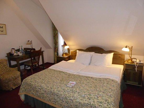 Zimmer Unter Dem Dach Picture Of Hotel Gutenbergs Riga Tripadvisor