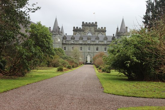 Inveraray, UK: castle in grounds