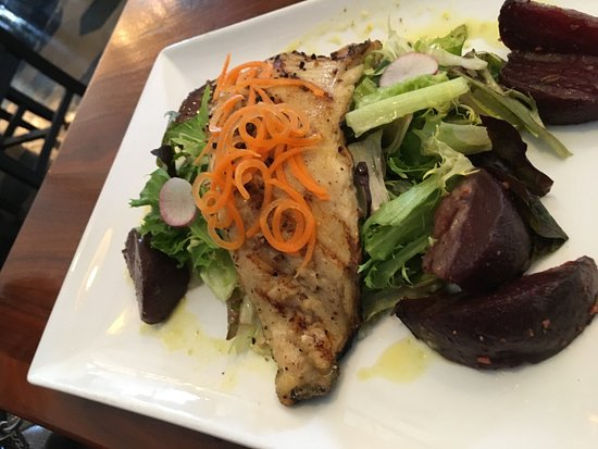 Auburn, AL: goog and good for you trout salad