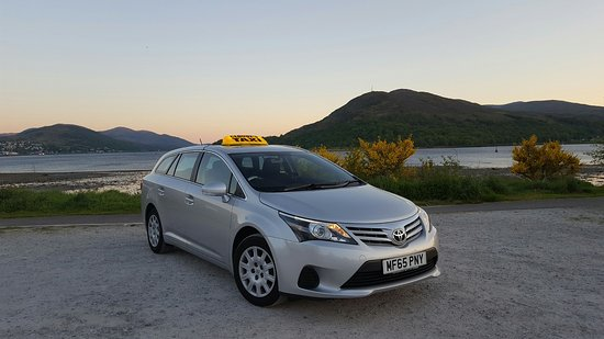 Fort William, UK: Our comfortable, modern taxi is available to take you to wherever you want to go!