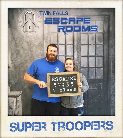 Twin Falls, ID: Super Troopers conquered in the nick of time!