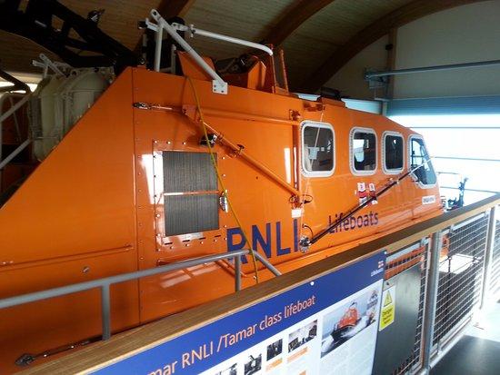 Moelfre lifeboat Kiwi