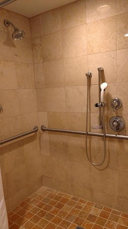 gaylord palms resort convention center roll in shower for handicapped bathroom