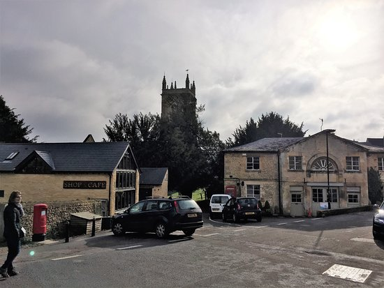 Blockley, UK : Perfect spot in the centre of the village