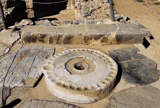Malia, Grecja: Руины дворца в Малии