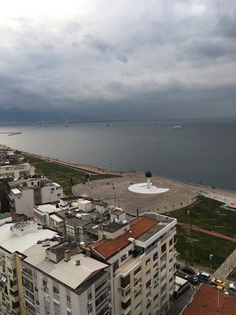 Ege Palas: View from 18th floor