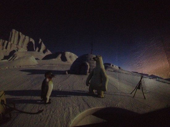 Film à l\'intérieur du planétarium éphémère (février 2017) - Picture ...