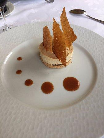 Anglars-Juillac, Frankrike: dessert praliné