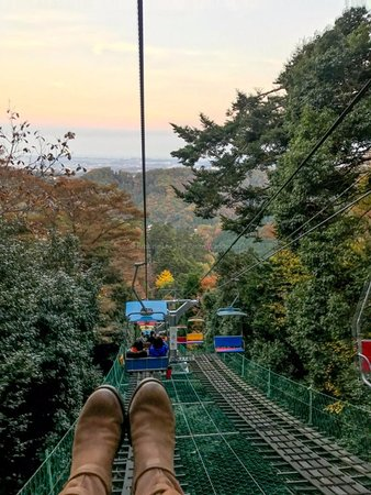 Mt. Takao Chairlift: excellent views!