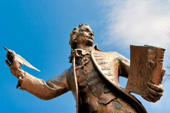 Thomas Paine statue in thetford - Picture of The Thomas Paine Hotel,  Thetford - Tripadvisor